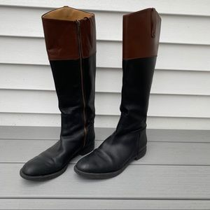 Leather Eaellerby Boots